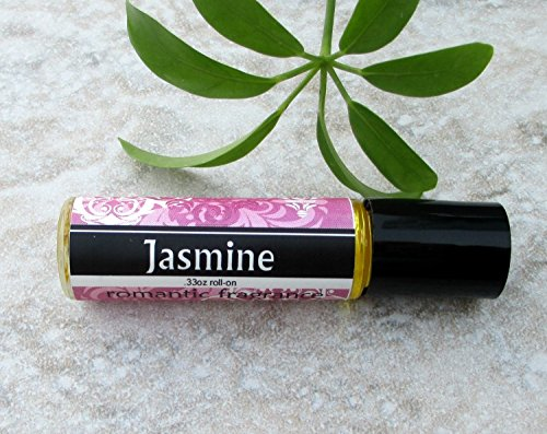 Jasmine Roll On Fragrance, concentrated perfume oil, roller ball perfume oil