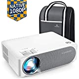 VANKYO Performance V630 Native 1080P Full HD Projector, 6800 Lumens 300' LED Projector w/ ±45° Electronic Keystone Correction, Compatible w/ TV Stick, HDMI, Laptop, Smartphone for Home/Business Use
