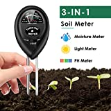 Best Soil Test Kits - Soil Test Kit, 3-in-1 Soil Moisture Light PH Review