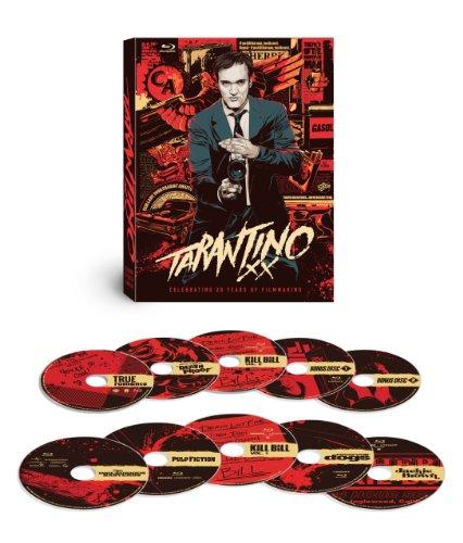 Tarantino XX: 8-Film Collection (Reservoir Dogs   True Romance   Pulp Fiction   Jackie Brown   Kill Bill: Vol. 1   Kill Bill: Vol. 2   Death Proof   Inglourious Basterds) [Blu-ray]