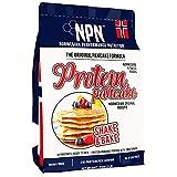 NPN Protein Pancake mix | panqueque de proteína en polvo | Fórmula sin gluten | Fuente de triple proteína | Agite y hornee 26 panqueques | 910g Fórmula original de noruega