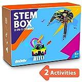Be Cre8v 2 in 1 STEM based Robotics Combo Diy Kit for Kids