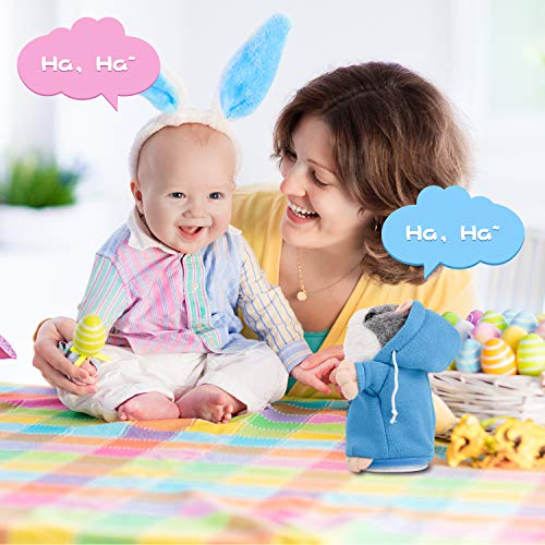 Qrooper Talking Hamster Toy Repeats What You Say Plush Interactive Toys Repeats Your Said Voice Perfect Toy Gift for Girls Boys or Pet