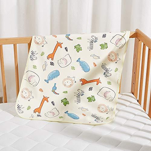 GESS Draagbare reizen waterdichte luiers, kinderbedje ultra-comfortabele warme gebreide matras, zacht en ademend