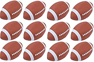 Jsport (Pack of 12) Footballs - Official Size & Weight Missionary Wholesale Bulk