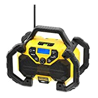 STANLEY FATMAX FMCR001B-QW - Radio con función de cargador 2Ah para baterías de litio 18V
