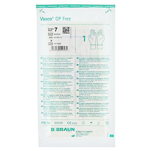 VASCO OP-Handschuhe free, PF,Latexfrei, steril, Gr. 7,5