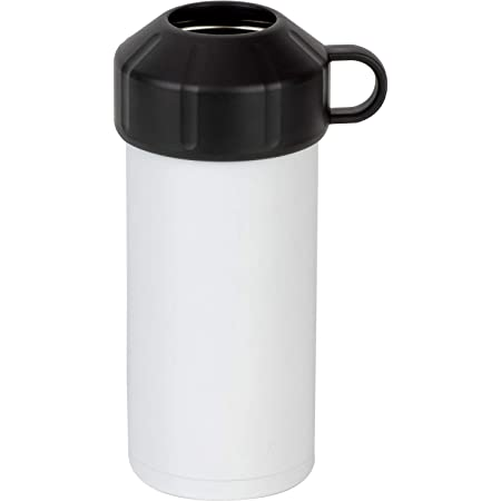 和平フレイズ ペットボトルクーラー ホワイト 真空断熱構造 500ml~600ml 保冷 炭酸・スポーツドリンクOK フォルテック RH-1567