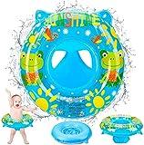 Anillo de natación de asiento de piscina para Bebe Learning Natación de bebé Anillo de natación inflable Anillo de natación flotante 13