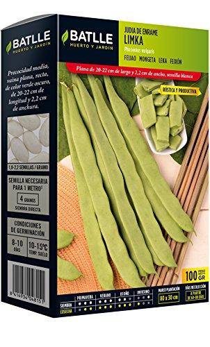 Semillas Leguminosas - Judía de enrame Limka 100g - Batlle