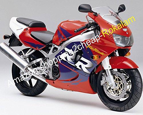 Sportbike Carénage Ensemble de Kits pour 98 99 919 CBR RR 900 1998 1999 Violet et rouge pour moto Carénages