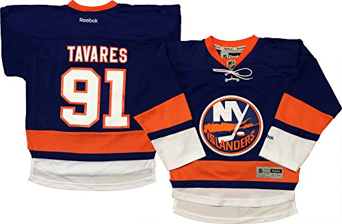 Outerstuff NHL Youth 8-20 Screen Printed Premier Player Name and Number Home Jersey (Small/Medium 8-12, John Tavares)