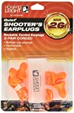 Howard Leight by Honeywell Quiet Corded Reusable Shooting Earplugs, 2-Pairs (R-01522)