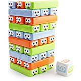 Boley Cute Stacking Blocks and Dice Game - 31...