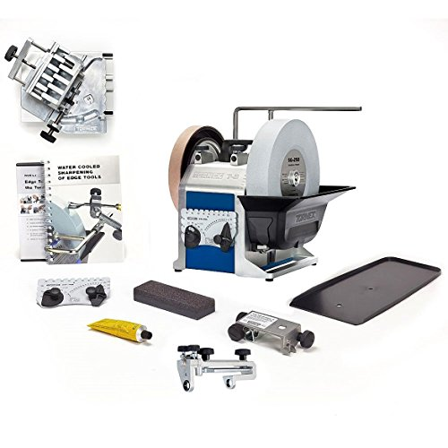 Tormek Sharpening System Drilling System TBD806 T8. A Complete Water Cooled Sharpener with Drill Bit Attachment