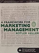 A Framework for Marketing Management 6th ed.