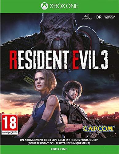 classement un comparer Resident Evil 3 pour Xbox One