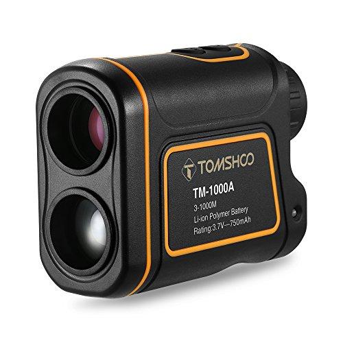TOMSHOO Télémètre Golf 600m / 1000m...