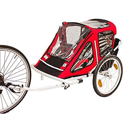 Red Loon Kinderanhänger Fahrradanhänger RB10001 ALU-Light für 2 Kinder