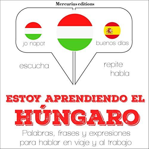 Diseño de la portada del título Estoy aprendiendo el húngaro