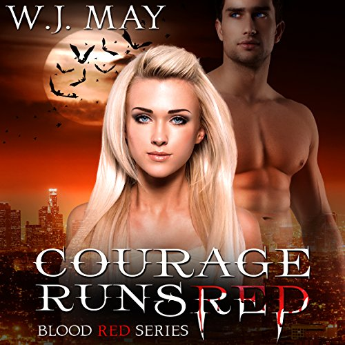 Courage Runs Red audiobook cover art