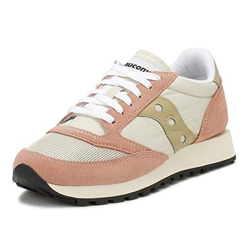 Saucony Jazz o Vintage, Sneaker Donna, Rosa (Tan/Mut Clay 31), 39 EU