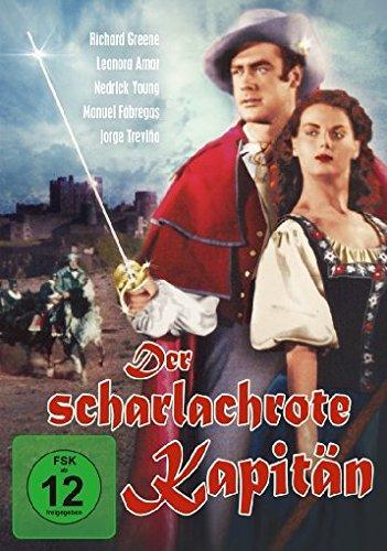 DER SCHARLACHROTE KAPITAE - MO [DVD] [1953]