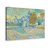 Poster von Gemälden von Elizabeth Taylor und Van Gogh,
