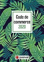 Code de commerce 2020 jaquette Tropical de Philippe Petel