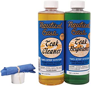 Nautical Technology Teak 2-Step Cleaning System, 1 Pint