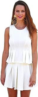 Hipster Bkt2317-L Blouse For Women - L, White