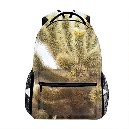 Lightweight Cholla Cactus Garden Backpacks Bags GMY Bags