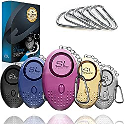 SLFORCE Personal Alarm Siren Song, Best Personal Alarm for Kids, Best Personal Alarm for Children, Personal Alarm, Keychain Alarm, Self Defense, Personal Protection, Kids Safety