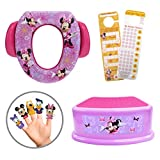 Disney Minnie Mouse 4 Piece Premium Potty Training Starter Set