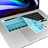 """COMPATIBLE WITH: ONLY The latest MacBook Pro 16-Inch with Touch ID and Touch Bar (Apple model: A2141, 2019 Version, US keyboard layout). & 2020 MacBook Pro 13"""" Model A2289 A2251 ACCUTATE KEYS: every key is specially molded, manufactured to the qualit..."""