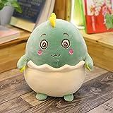 N / A Chubby egghell Dinosaur Plush Toy niños Lindos Felpa Soft Dinosaur Animal Doll bebé niño Juguete Regalo de cumpleaños decoración del hogar sin batería 40cm