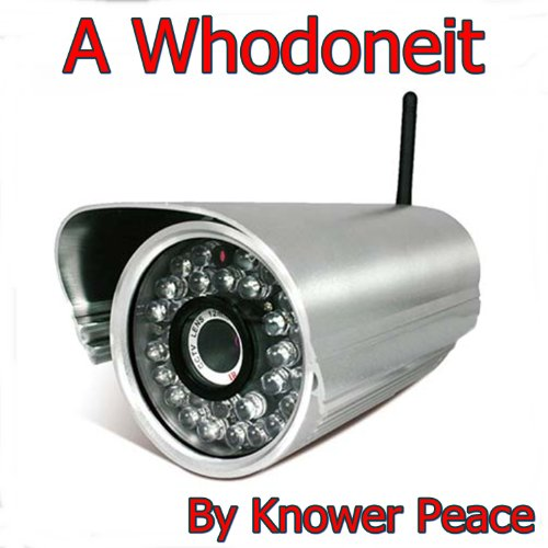A Whodoneit audiobook cover art
