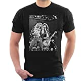 Photo de Robert Plant Jimmy Page Led Zeppelin Earls Court 24th May 1975 Men's T-Shirt