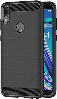 AICEK Cover Compatible ASUS Zenfone Max PRO (M1) ZB601KL, Nero Custodia ASUS ZB601KL Silicone Molle Black Cover per Zenfon...