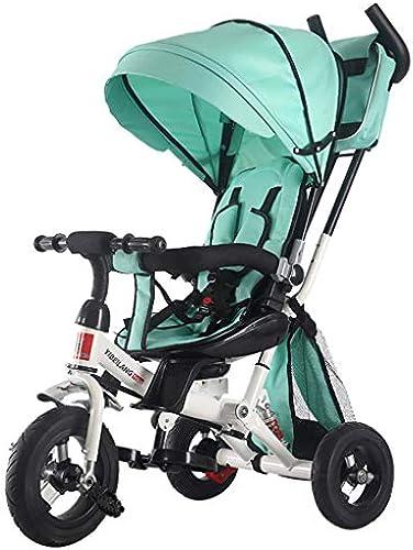 Minmin Dreiradfürrad der Multifunktionskinder drehender Sitzbabyhandsto eirad-Spaßierg er-fürrad-Spaßierg er 2-6 Jahre altes Baby