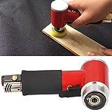 Shipenophy Máquina pulidora excéntrica de Aire lijadora de Acero Inoxidable DIY para Encerado de automóviles(Japanese Gas Nozzle)