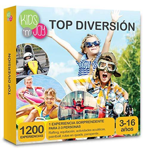 NJOY Experiences - Caja Regalo - TOP DIVERSÓN - Más de 980 experiencias para niños a escoger