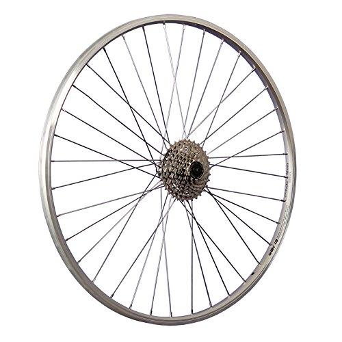 Taylor-Wheels 28 Zoll Hinterrad YAK19 / 8 Fach Kassette - Silber