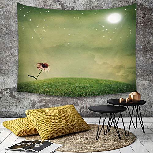 Wondihao Surrealista, color verde pistacho y helecho, decoración para el hogar, decoración de dormitorio, sala de estar, apartamento