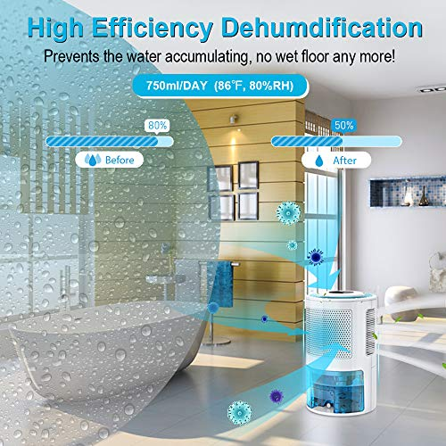 Product Image 5: LONOVE Dehumidifier – Upgraded 5000 Cubic Feet (450 Sq ft) – Great for RVs