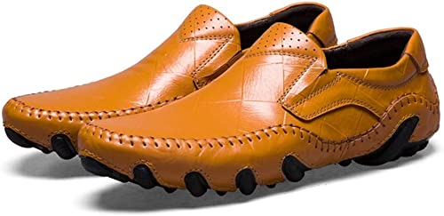 FELICIPP Peas Chaussures Chaussures pour Hommes Chaussures pour Hommes Occasionnels Chaussures décontractées en Cuir Angleterre Fashion Set Chaussures de Pied