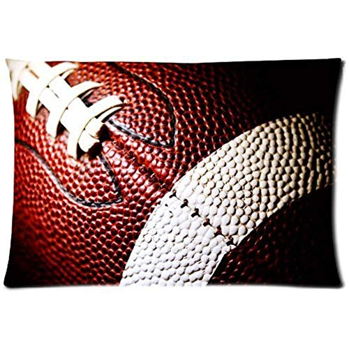 SARA VAQUERO Love Sport Football - Fashion American Football In Your Home Pillow Cases (Twin Sides) Zippered Pillow Cases F423