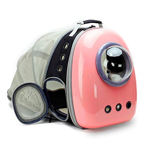 Expandable Cat Carrier Backpack Bubble, Space Capsule Bubble Pet Travel Carrier for Small Dog, Pet Hiking Traveling...
