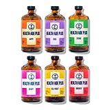 Health-Ade PLUS, Kombucha Tea Organic Sparkling Probiotic Drink, Immune Boosting Variety Sampler 6 Pack (16 Fl Oz Bottles), Low Sugar, Gluten Free, Vegan, Kosher