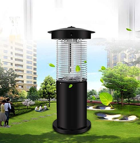 LED tueur de moustique insecticide contre les moustiques en plein air, tueur de moustique électrique à courant alternatif, la surface métallique par pulvérisation électrostatique lampe anti-moustiques